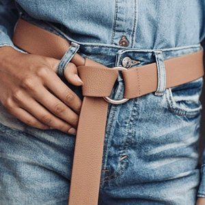 B-Low the Belt Vegan Leather Mia Wrap Gold O Ring